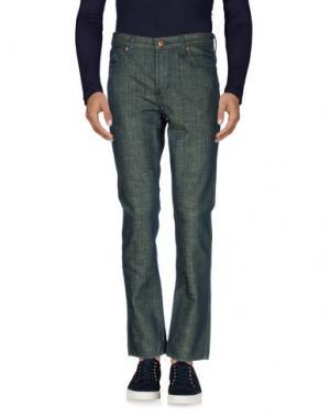 Джинсовые брюки FALLEN. Цвет: синий