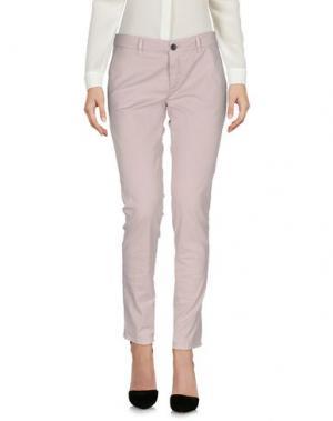 Повседневные брюки INX #THINK COLORED. Цвет: голубиный серый