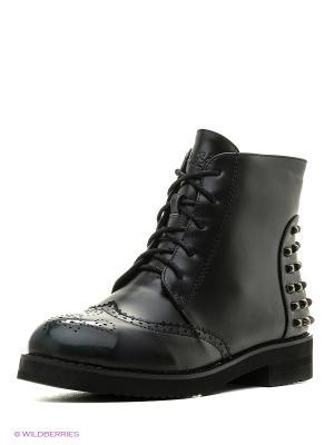 Ботинки Dino Ricci. Цвет: зеленый, черный