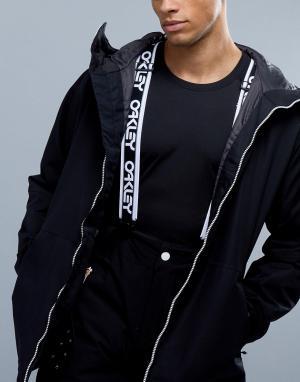 Oakley Черные подтяжки для горнолыжных штанов с логотипом Factory. Цвет: черный