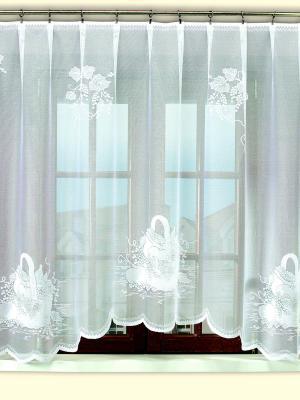Гардина Haft. Цвет: белый