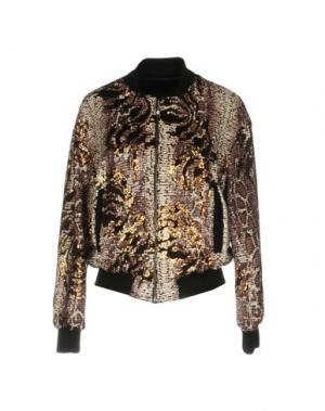 Куртка ANGELA MELE MILANO. Цвет: коричневый
