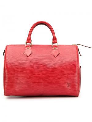 Сумка-тоут Speedy 30 Louis Vuitton Vintage. Цвет: красный