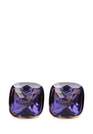 Серьги Fiore Luna. Цвет: фиолетовый