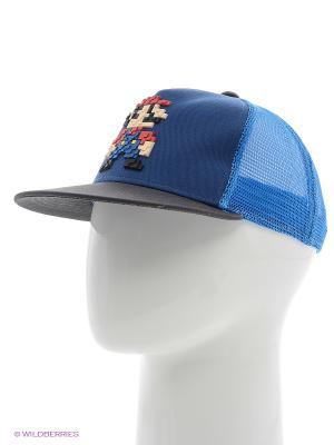 Бейсболка Imojo. Цвет: голубой