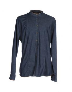 Джинсовая рубашка Q1. Цвет: синий