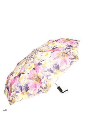 Зонт Stilla s.r.l.. Цвет: серый, желтый, розовый