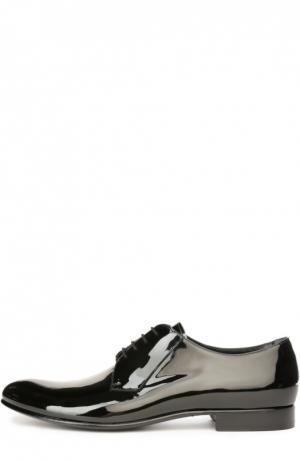 Лаковые туфли Aldo Brue. Цвет: черный