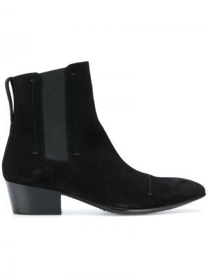 Ботинки челси Rochas. Цвет: чёрный