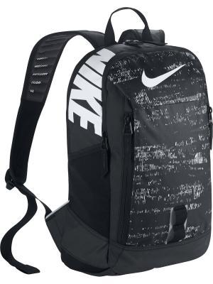 Рюкзак YA NIKE ALPH ADPT RSE PRINT BP. Цвет: черный, белый, серый