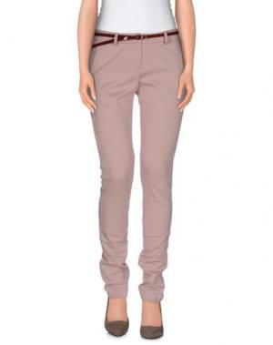 Повседневные брюки SCRUPOLI. Цвет: пастельно-розовый