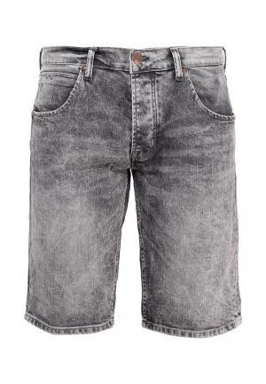Шорты джинсовые Wrangler. Цвет: серый