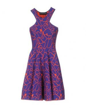 Платье до колена ANTONINO VALENTI. Цвет: фиолетовый