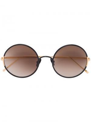 Круглые солнцезащитные очки Yetti Sunday Somewhere. Цвет: металлический