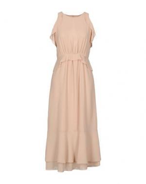 Длинное платье SOUVENIR. Цвет: светло-розовый