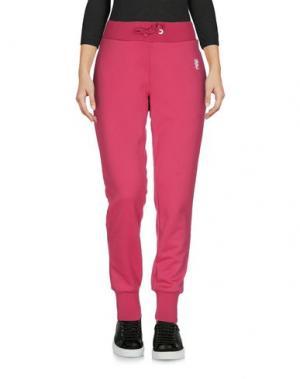 Повседневные брюки WESC. Цвет: фуксия