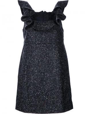 Платье Carlotta Misha Nonoo. Цвет: серый