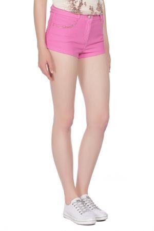 Шорты VDP BEACH. Цвет: розовый