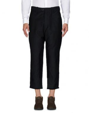 Повседневные брюки TS(S). Цвет: темно-зеленый