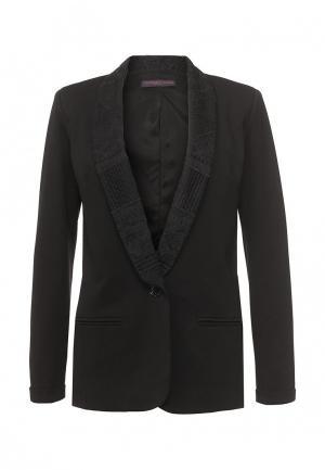 Пиджак Trussardi Jeans. Цвет: черный