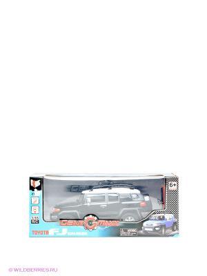Машинка Toyota FJ Cruiser/ 1:16 KidzTech. Цвет: черный