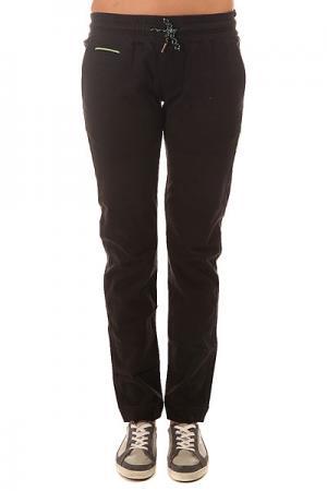 Штаны прямые женские  Flume2 Black Picture Organic. Цвет: черный