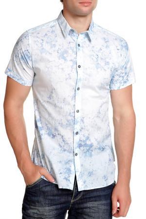 Рубашка Paul Smith. Цвет: голубой