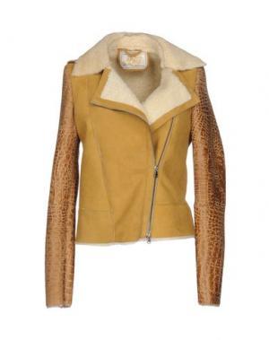 Куртка VINTAGE DE LUXE. Цвет: охра
