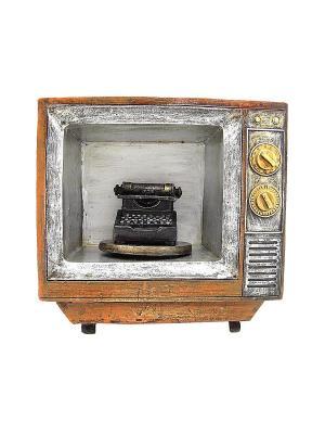 Сувенир Ретро телевизор Miolla. Цвет: коричневый