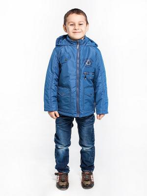 Куртка Гоша Аксарт. Цвет: темно-синий