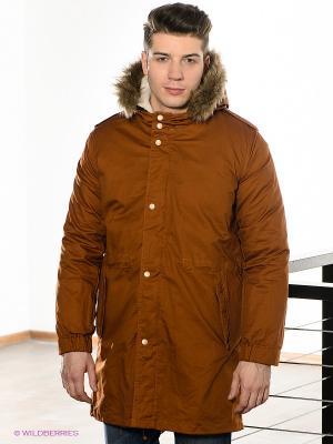 Куртка Camelot. Цвет: коричневый