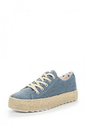 Ботинки Kylie. Цвет: голубой