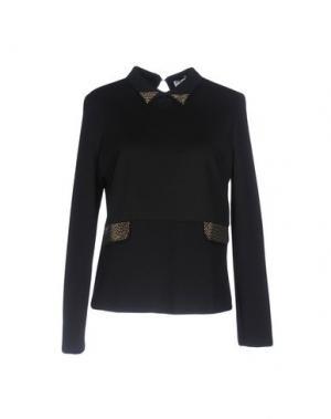 Блузка TUWE ITALIA. Цвет: черный