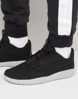Jordan Черные кроссовки Nike Air Eclipse 724010-015. Цвет: черный