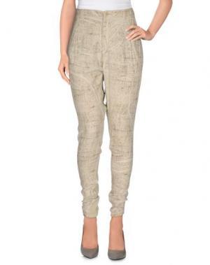 Повседневные брюки SUPERFINE. Цвет: бежевый