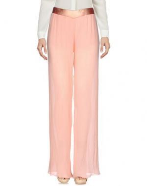 Повседневные брюки F**K PROJECT. Цвет: лососево-розовый