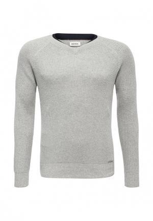 Пуловер Diesel. Цвет: серый