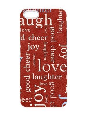 Чехол для iPhone 5/5s Love Joy Арт. IP5-090 Chocopony. Цвет: красный