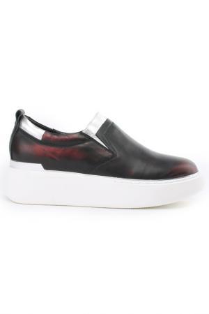 Ботинки NURIA. Цвет: красный