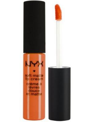 Матовая жидкая помада-крем SOFT MATTE LIP CREAM - SAN JUAN 28 NYX PROFESSIONAL MAKEUP. Цвет: оранжевый