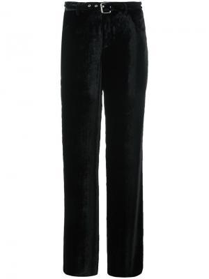 Широкие брюки с поясом Arthur Arbesser. Цвет: чёрный