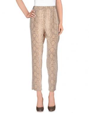 Повседневные брюки EQUIPMENT FEMME. Цвет: бежевый