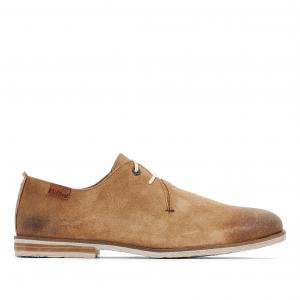 Ботинки-оксфорды кожаные Flallina KICKERS. Цвет: бежевый