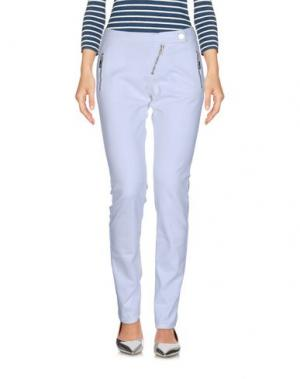 Джинсовые брюки FRANKIE MORELLO. Цвет: белый