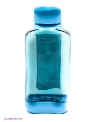 Бутылка Frybest. Цвет: голубой
