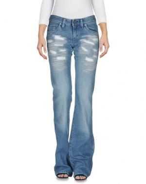 Джинсовые брюки PARASUCO CULT. Цвет: синий