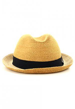 Шляпа GIORGIO ARMANI. Цвет: желтый