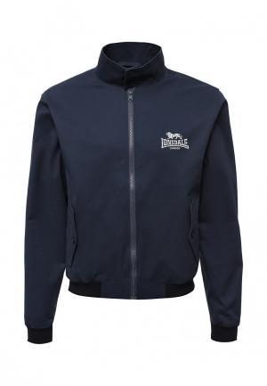 Куртка Lonsdale. Цвет: синий