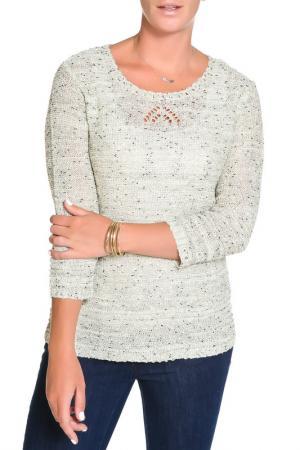 Пуловер HELENA VERA. Цвет: серебристый