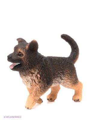 Немецкая овчарка щенок SCHLEICH. Цвет: коричневый